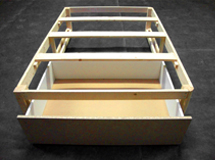 Individual Timber Divan Kit Bed Component with Drawers