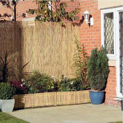 Reed screen fencing is the economical solution to enhance your garden